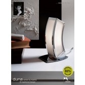 Duna Table Lamp 1 Light Polished Chrome Low Energy