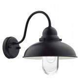 Dynamo 1 Light Wall Bracket Matt Black IP44