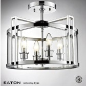 Diyas Eaton Semi Flush 4 Light Polished Chrome