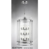 Diyas Eaton Pendant 12 Light Polished Chrome