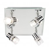 Enluce IP44 Mirror Backplate Ceiling Light