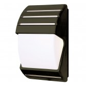 Dusk Till Dawn Wall Light - Black