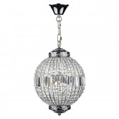 Equator 6 Light Pendant Polished Chrome