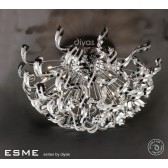 Diyas Esme Ceiling 20 Light Polished Chrome/Crystal