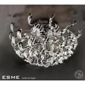 Diyas Esme Ceiling 20 Light Polished Chrome/Crystal