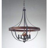Feiss FE/ALSTON5 Alston 5 - Light Chandelier