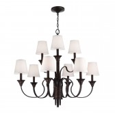 Feiss FE/ARBOR CREEK9 Arbor Creek 9-Light Chandelier