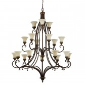 Feiss FE/DRAWINGRM18 Drawing Room 18-Light Chandelier