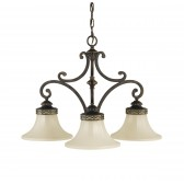 Feiss FE/DRAWING RM3 Drawing Room 3 - Light Chandelier