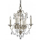 Feiss FE/GIANNA4 Gianna 4 - Light Chandelier