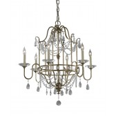Feiss FE/GIANNA6 Gianna 6 - Light Chandelier