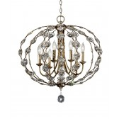 Feiss FE/LEILA6 Leila 6 - Light Chandelier