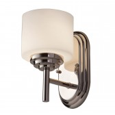 Feiss FE/MALIBU1 BATH Malibu 1-Light Wall Light