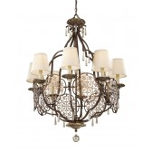 Feiss FE/MARCELLA8 Marcella 8 - Light Chandelier