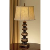Feiss FE/OAKCASTLE TL Oakcastle 1 - Light Table Lamp