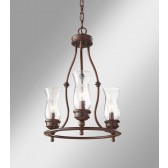 Feiss FE/PICKERINGL3 Pickering Lane 3 - Light Chandelier