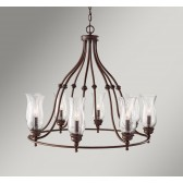 Feiss FE/PICKERINGL8 Pickering Lane 8 - Light Chandelier