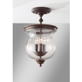 Feiss FE/PICKERINGL/SF Pickering Lane 3 - Light Semi-Flush