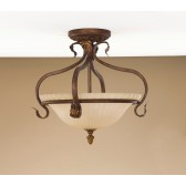Feiss FE/SONOMAVAL/SF Sonoma Valley 3 - Light Semi-Flush