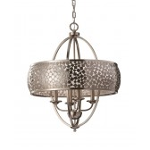 Feiss FE/ZARA4-L Zara 4 - Light Chandelier