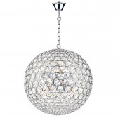 Fiesta Ceiling Pendant (50CM) - 8 Light, Polished Chrome