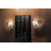 Firenze Wall Lamp - 1 Light, Anthracite