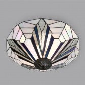 Interiors1900 Astoria Flush Ceiling Light
