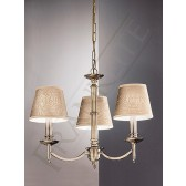 Franklite Petrushka Ceiling Light - 3 Light, Bronze