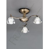 Franklite FL2163/3 Twista 3 Light Fitting