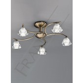 Franklite FL2163/5 Twista 5 Light Fitting