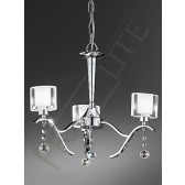 Franklite FL2164/3 Theory 3 Light Fitting
