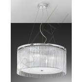 Franklite Eros Pendant - 4 Light, Chrome