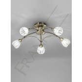 Franklite FL2207/5 Chloris 5 Light Fitting