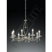 Franklite FL2225/8 Monaco 8 Light Fitting