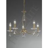 Franklite FL2228/5 Monaco 5 Light Fitting