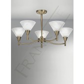 Franklite FL2251/5 Harmony 5 Light Fitting