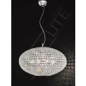 Franklite Marquesa Pendant Light - 8 Light, Polished Chrome