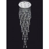 Franklite FL2320/7 Shimmer 7-Light Ceiling Flush
