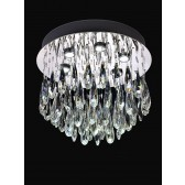 Franklite FL2321/6 Shimmer 6-Light Ceiling Flush