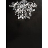 Franklite FL2326/8 Wisteria 8-Light Ceiling Flush