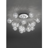 Franklite FL2329/15 Protea 15-Light Ceiling Flush