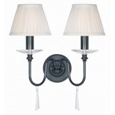 Elstead FP2 OLD BRZ Finsbury Park 2 - Light Wall Light Polished Nickel