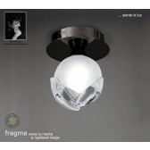 Fragma Ceiling 1 Light Black Chrome