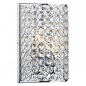 Frost 2 Light Wall Light - Polished Chrome
