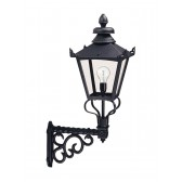 Elstead GB1 BLACK Grampian Wall Lantern Black