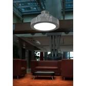 Gigabyte Ceiling Light - 4 Light, Grey