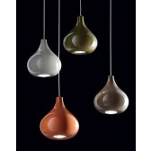 Granada Ceiling Pendant - Polished Chrome, Orange