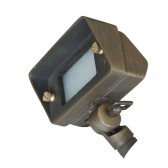 Garden Zone GZ/BRONZE10 Bronze Mini Flood Light - Aged Bronze