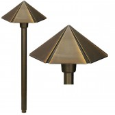 Garden Zone GZ/BRONZE18 Bronze Hex Pagonda Light - Aged Bronze