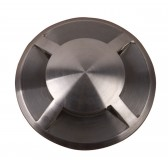 Garden Zone GZ/FUSION9 Fusion 4 direction ring in-ground Light - stainless steel